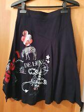 Jupe Desigual skirt taille M noir