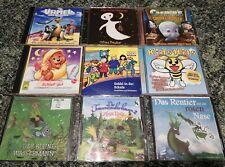 9 CD Sammlung für Kinder 6 Stück + 3 gratis
