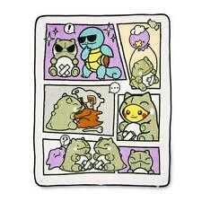 Pokemon Pikachu Squirtle Couvre-Lit Polaire Tout Nouveau Couverture Cosplay 50