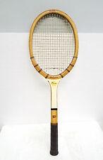 Vintage Jack Kramer autograph model Wilson wooden tennis racket