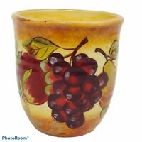 Certified International Pamela Gladding Tuscany Mug Grapes Figs Pears