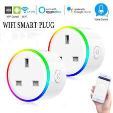 Intelligent Wifi Smart Timer UK Plug Socket Outlet App Amazon Alexa Google Home