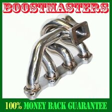 For 89-98 Nissan 240SX KA24DE S13 S14 S15 Stainless Steel Turbo Manifold Bottom
