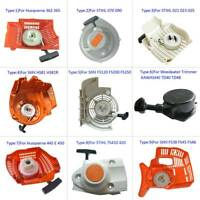 Recoil Pull Start Starter For Stihl / Husqvarna / & Other Chainsaw Trimmers