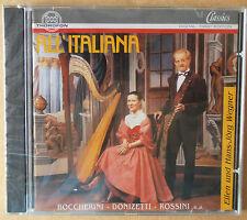 All' Italiana - Werke für Flöte und Harfe - Ellen u. Hans Wegner - CD neu & OVP