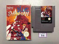 Blue Shadow - Nintendo NES Game - Boxed