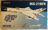 Eduard 1/48 MiG21MFN Fighter (Wkd Edition Plastic Kit)