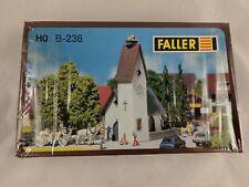 Faller HO B-236 Village Country Church Model Kit