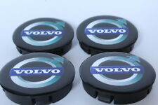 VOLVO  4 x Plastic Wheel Centre Cap Hubs with Silicone Logo 60mm/55mm NEW