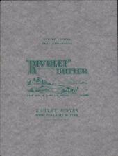 Bristol. 'RIVULET' New Zealand   Vintage Butter Wrapper. B8.214