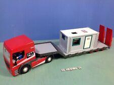 (O5467.6) playmobil  grand Camion transport PM ref 5467 + cabane chantier 3260