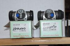 2 cilindros de rueda trasero derecha e izquierda peugeot 404, 504 pu 28.57mm