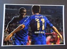 Football OSCAR Dos Santos autographe original hand signed Chelsea