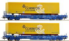 ROCO 67509 , 2 piezas, Set unidades vagones 3 , NUEVO, emb.orig