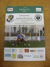 29/11/2008 Dartford v Boreham Wood  (slight marked). Unless previously listed in