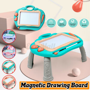 Kid Drawing Board Magnetic Writing Sketch Pad Erasable Graffiti Doodle Toy