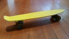 Vintage 1970s Yellow Sport Fun Inc. Skateboard Supergrip California