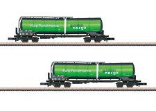 Märklin Z 82532 Knickkesselwagen-Set Green Cargo