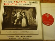 RB 16163-5 Verdi Falstaff / Valdengo / Nelli / Toscanini GROOVED R/S 3 LP box