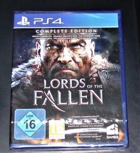 LORDS OF THE FALLEN COMPLETE EDITION + BONUSINHALT FÜR PS4 SCHNELLER VERSAND NEU