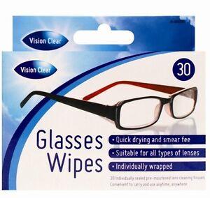 Glasses Wipes Clean Optical Lens Sunglasses Spectacles Phones Ipad