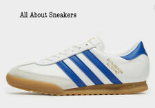 "Adidas Beckenbauer "" White-Blue"" Trainers All Size Limited Stock"