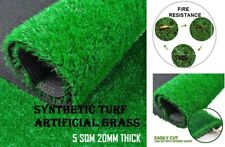 5 SQM Synthetic Turf Artificial Grass Plastic Olive Plant Fake Lawn Flooring