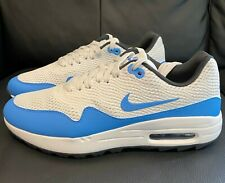 Nike Air Max 1G Golf Shoes - 2020 - Summit White/Blue - UK6 - Brand new - Boxed