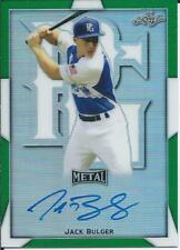 2019 Leaf Perfect Game Baseball All American JACK BULGER Autograph 6/10