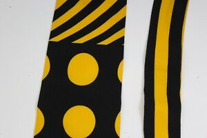 Vitaliano Pancaldi Bold Polka Dot Italian Artwork Silk Tie NECK TIE