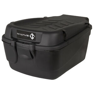 M-Wave Topcase Helmbox Fahrradkoffer 18 Liter abschließbar Helmkoffer M-Wave