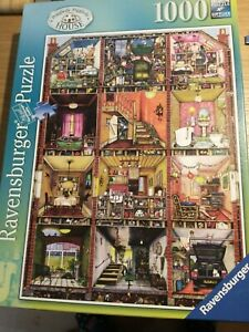 Ravensburger Higgledy Piggledy House 1000 Piece Jigsaw Puzzle  by Colin Thompson