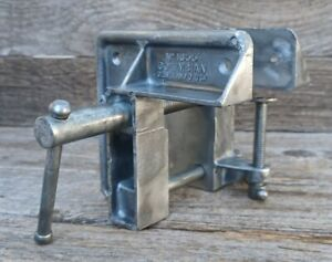 Vintage Columbian No.1655 Clamp or Vise - Aluminum Workbench Wood Clamp USA