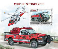 ROSENBAUER PANTHER/Ford F-350/AW139 Helicopter Fire & Rescue Vehicle Stamp Sheet