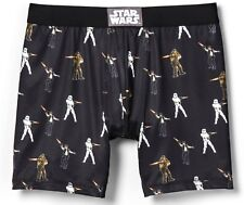 STAR WARS Battle Action BOXER BRIEFS Boxers SMALL 28-30 NEW Men's Size S