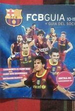 Barça Barcelona Guía del soci 10-11