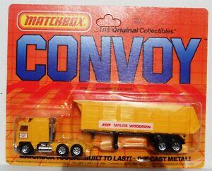 Vintage Matchbox Convoy Kenworth C.O.E. Tipper Truck Taylor Woodrow CY20 1983