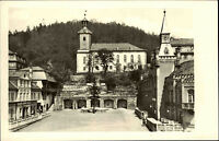 Leutenberg Thüringen Thüringer Schiefergebirge AK ~1950/60 DDR Marktplatz Markt