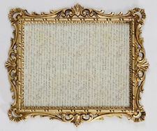 Picture Frame Gold Wedding Baroque Antique 43x37 Photo Photoframe C532