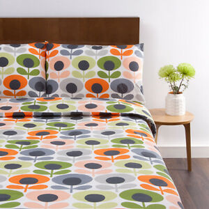 NEW Orla Kiely Multi Flower Oval Bedding - Options Available