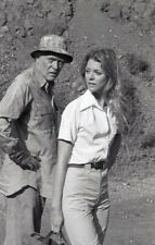 LINDSAY WAGNER IN AFRICA THE BIONIC WOMAN RARE 1977 NBC TV PHOTO NEGATIVE