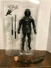 """Hawkeye in Ronin Disguise Marvel Legends 6"""" Action Figure Loose Unmasked"""