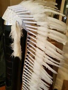 White Feather Headdress