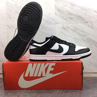 Nike Dunk Low Retro White Black Panda 2021 DD1391-100 Men's Size 9.5