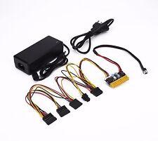96W AC/DC 12V 8A Power Adapter + 180W DC 12V PC mini-ITX Pico-ATX Power Supply