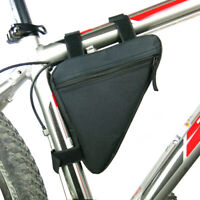 Mountain MTB Bike Cycling Bicycle Bag Front Triangle Frame Top Tube Pouch Pocket