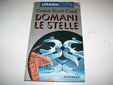 URANIA ARGENTO-N. 1-ORSON SCOTT CARD-DOMANI LE STELLE-MONDADORI-7/3/1995
