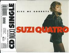 SUZI QUATRO - Kiss me goodby CD SINGLE 3TR (BELLAPHON) 1991 MEGA RARE!!
