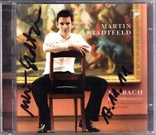 Martin STADTFELD Signiert BACH Piano Concerto + Bonus CD BERG SCHOENBERG Sonata