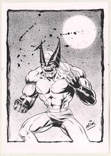"Wolverine Ink Drawing by Nick ""NIK"" Neocleous MARVEL"